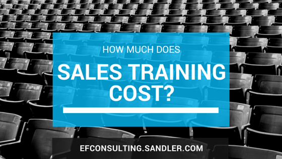 One Of The First Questions I Am Asked By A Person Or Company Interested In S Training Is How Much Does It Cost Let Face Most Companies Don T